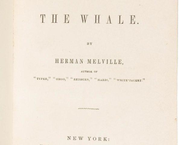 Gavels 'n' Paddles: Copy of Moby Dick, $9,600, PBA Galleries