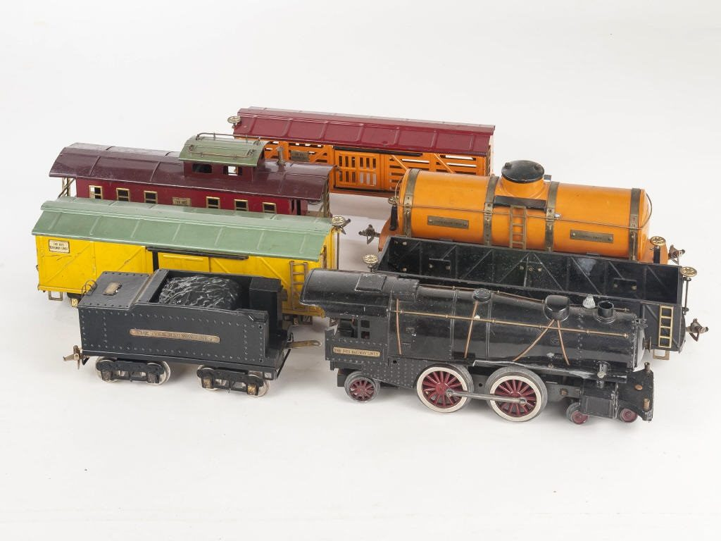 Gavels 'n' Paddles: Ives Railway Lines set, $6,000, Cordier Auctions