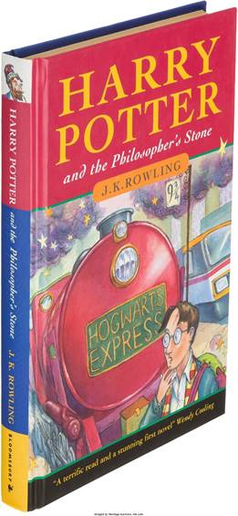 Harry Potter First Edition Sets World Record at Heritage Auctions
