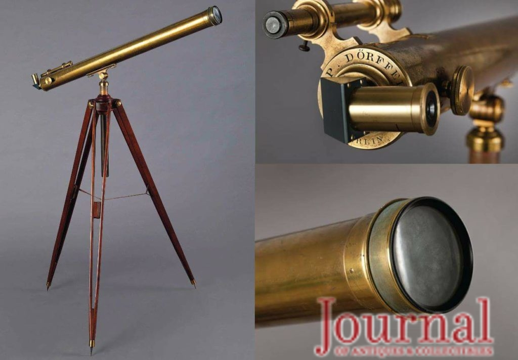 Gavels 'n' Paddles: Einstein's telescope, $432,500, Christie's