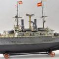 Gavels 'n' Paddles: Marklin toy battleship, $192,000, Bertoia Auctions
