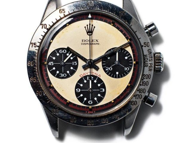 Gavels 'n' Paddles: Paul Newman's Rolex wristwatch, Phillips/Bacs & Russo, $17.75 million