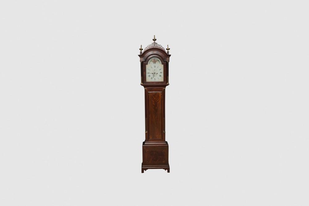 Gavels 'n' Paddles: Simon Willard tall case clock, $48,800, Grogan & Company