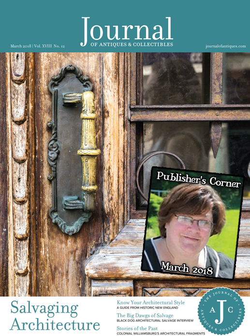 Publisher's Corner: March 2018