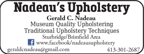 Nadeaus Upholstery
