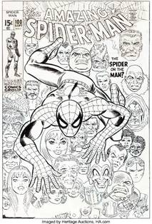 World Record Spider-Man Cover Art