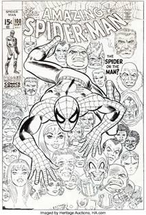 World Record Spider-Man Cover Art