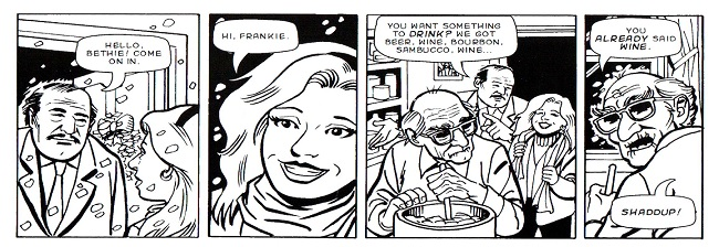 Feast of the Seven Fishes: From Comic Strip to Movie