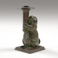 Gavels 'n' Paddles: Tiffany Studios candlestick, $20,400, Cowan's Auctions