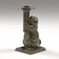 Gavels 'n' Paddles: Tiffany Studios candlestick, $20,400, Cowan's Auctions