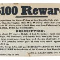 Gavels 'n' Paddles: Wells Fargo reward poster, $10,200, PBA Galleries