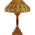 Gavels 'n' Paddles: Tiffany Studios Venetian lamp, $102,850, Clars Auction Gallery