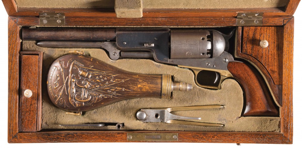 Gavels 'n' Paddles: Colt percussion revolver, $1.84 million, Rock Island