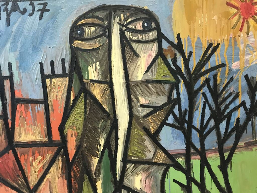 Gavels 'n' Paddles: Francis N. Souza painting, $235,000, Weiss Auctions