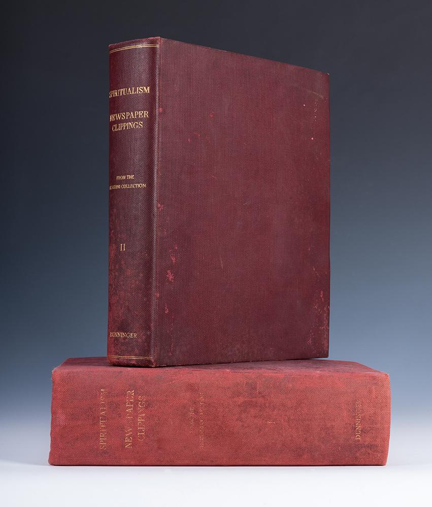 Gavels 'n' Paddles: Harry Houdini scrapbook, $66,000, Potter & Potter