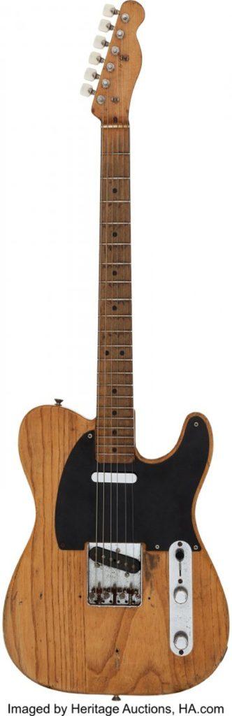 Gavels 'n' Paddles: Stevie Ray Vaughan guitar, $250,000, Heritage Auctions