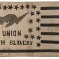 Gavels 'n' Paddles: Anti-slavery flag banner, $46,800, Jeffrey S. Evans