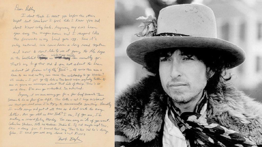 Gavels 'n' Paddles: Bob Dylan signed letter, $29,645, RR Auction