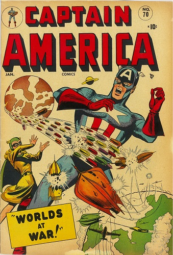 Captain America Comics #70: Going Home Again