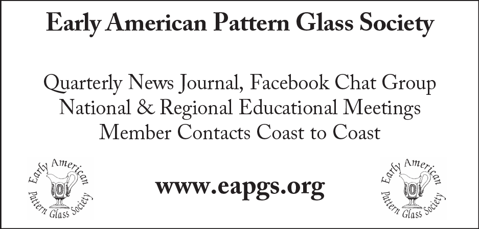 Early American Pattern Glass Society