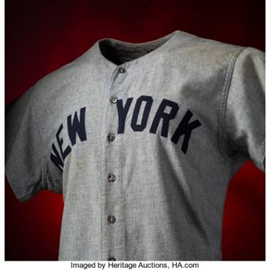 Record-shattering Mickey Mantle Jersey Stuns Hobby