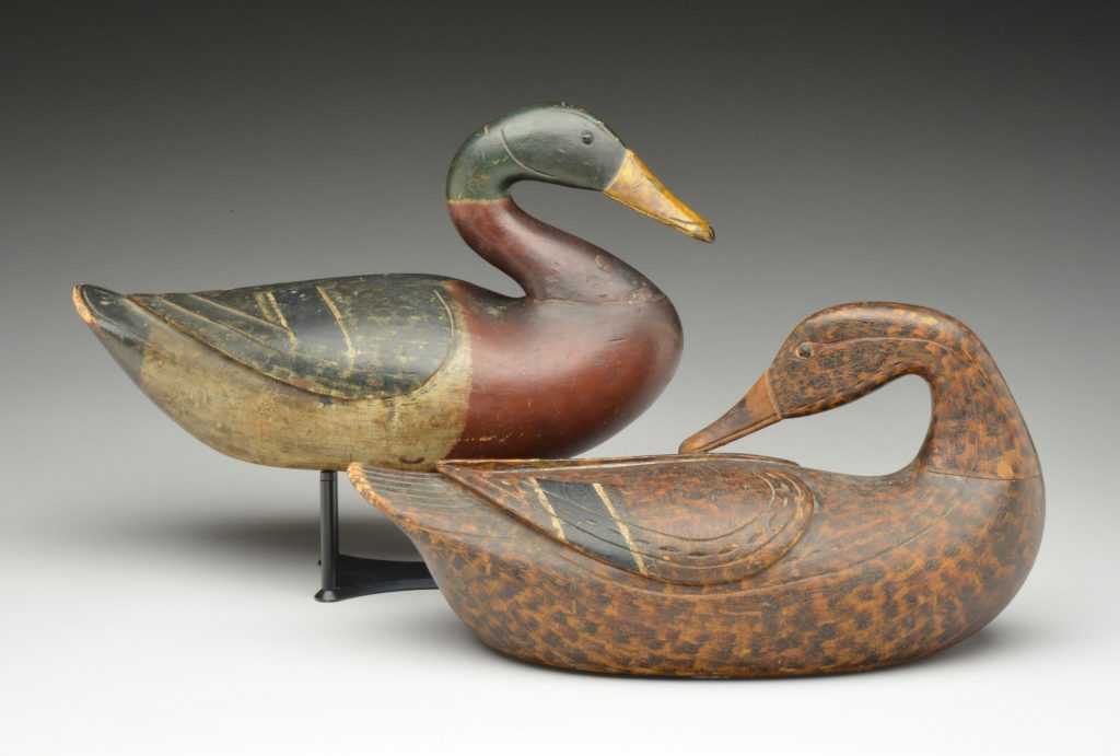 Gavels 'n' Paddles: Caines Brothers mallard decoys, $1.145 million, Guyette & Deeter