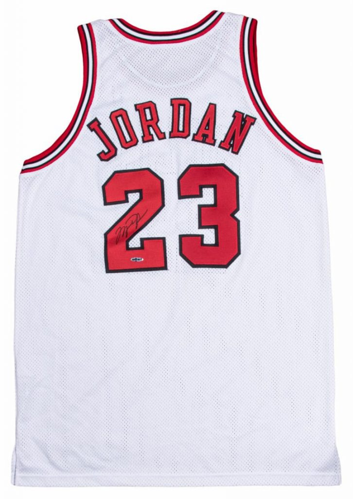 Gavels 'n' Paddles: Michael Jordan Bulls jersey, $122,750, Goldin Auctions