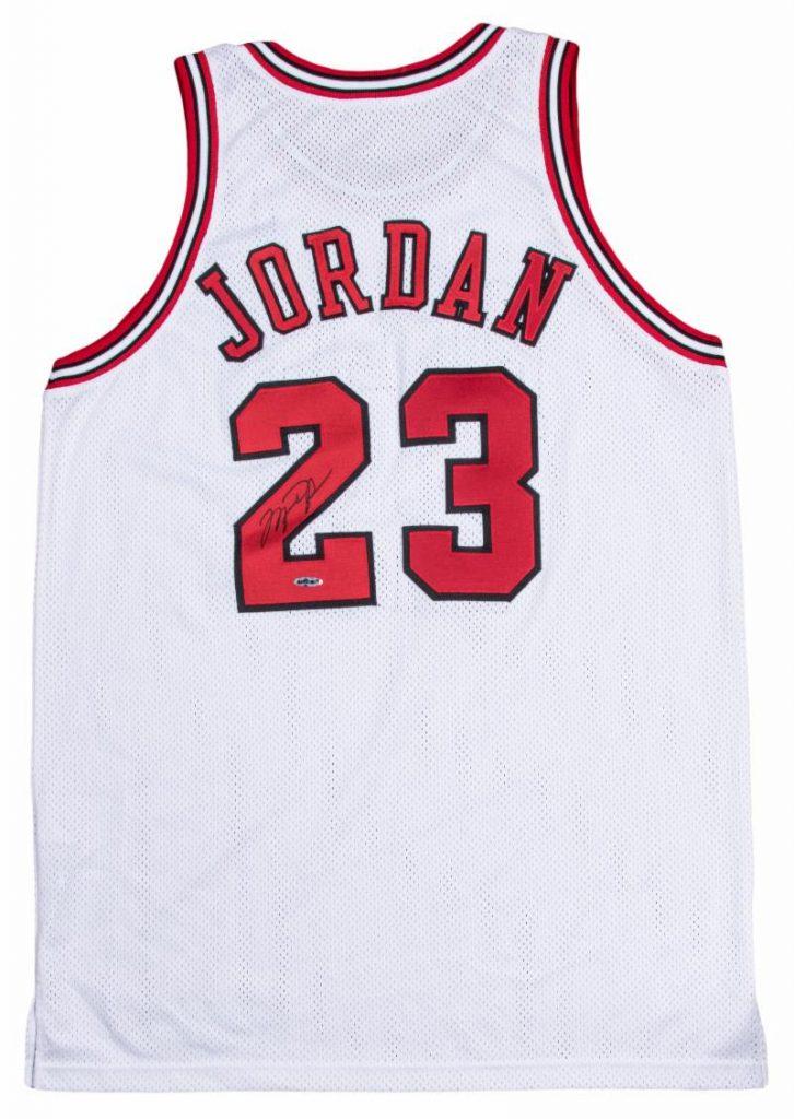 Gavels 'n' Paddles: Michael Jordan Bulls jersey, $122,750, Goldin Auctions