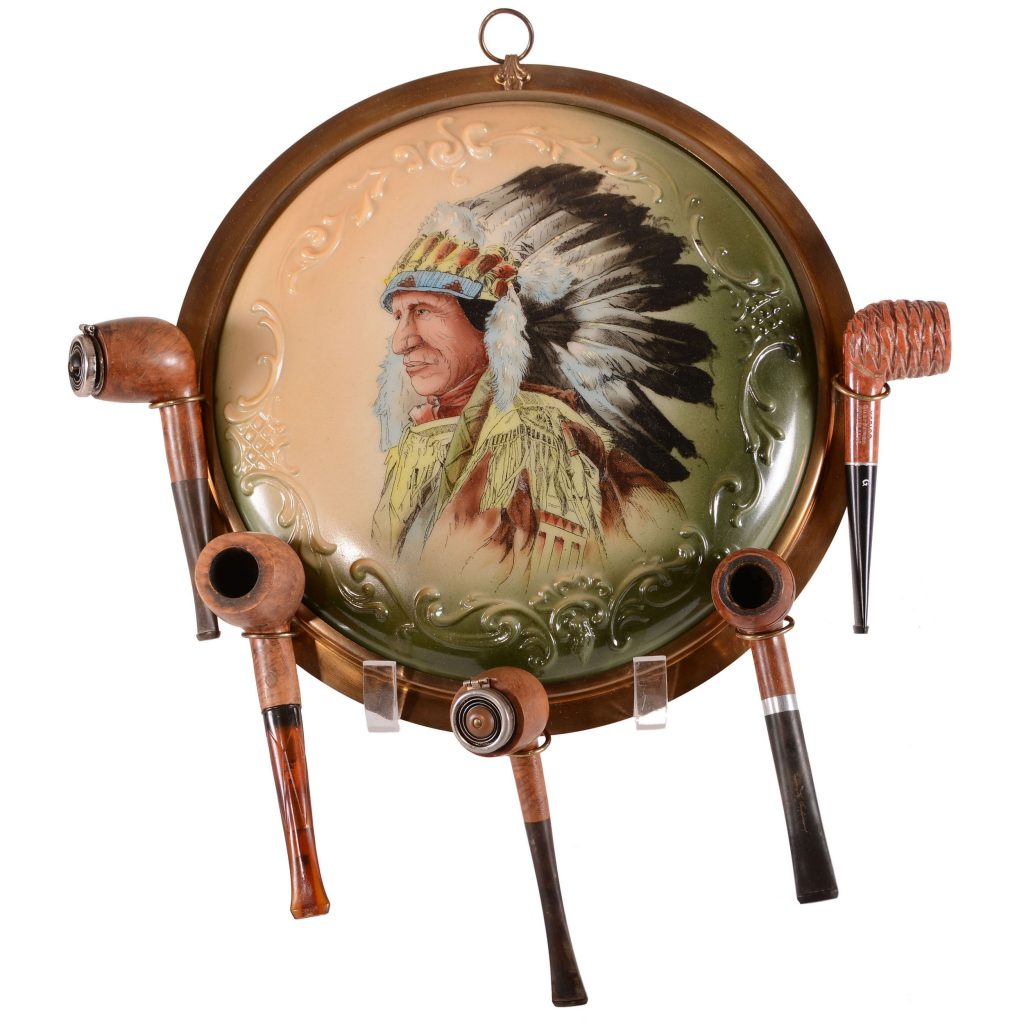 Gavels 'n' Paddles: Wave Crest pipe holder plaque, $13,000, Woody Auction