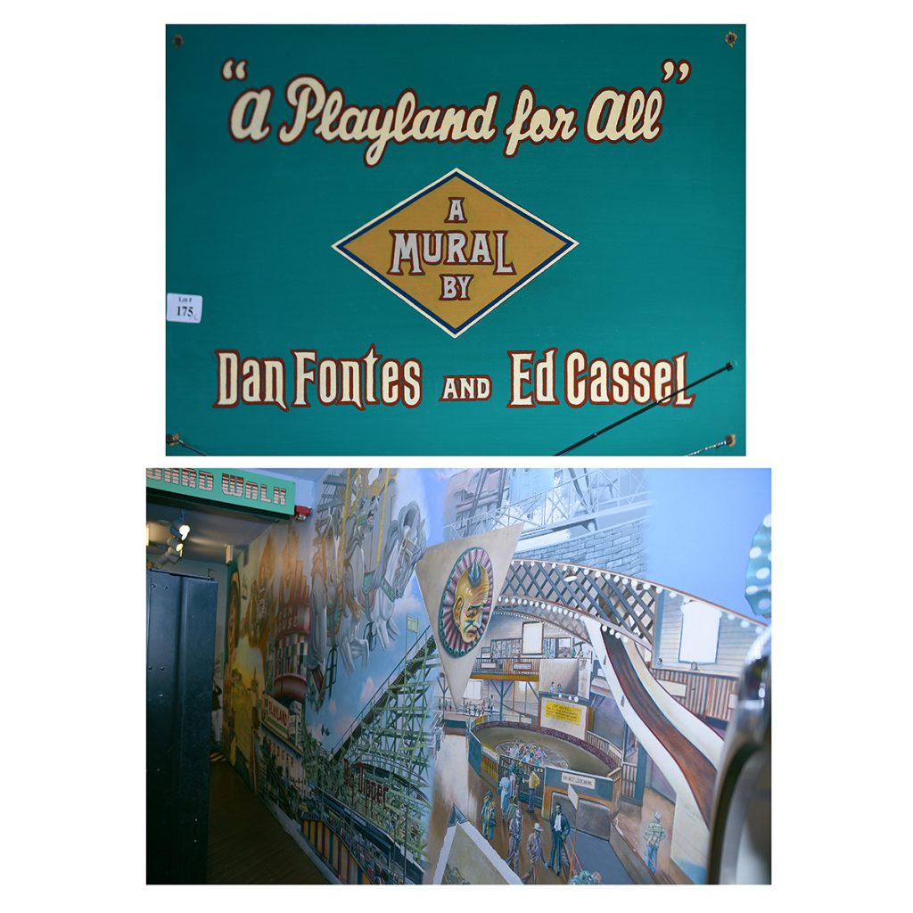 Gavels 'n' Paddles: A Playland for All mural, $21,600, Michaan's Auctions