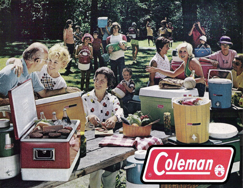 Camping with Coleman