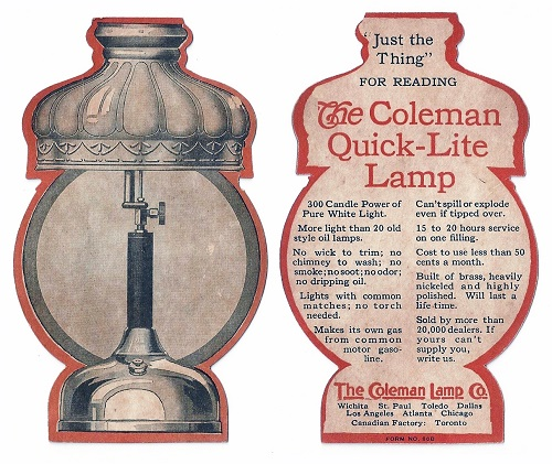 Camping with Coleman - The Journal of Antiques and Collectibles