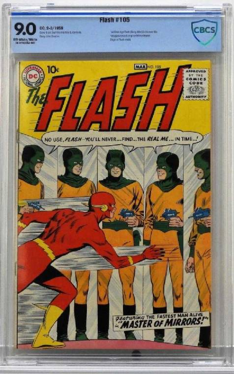 Gavels 'n' Paddles: DC Comics Flash #105, $20,000, Bruneau & Co.