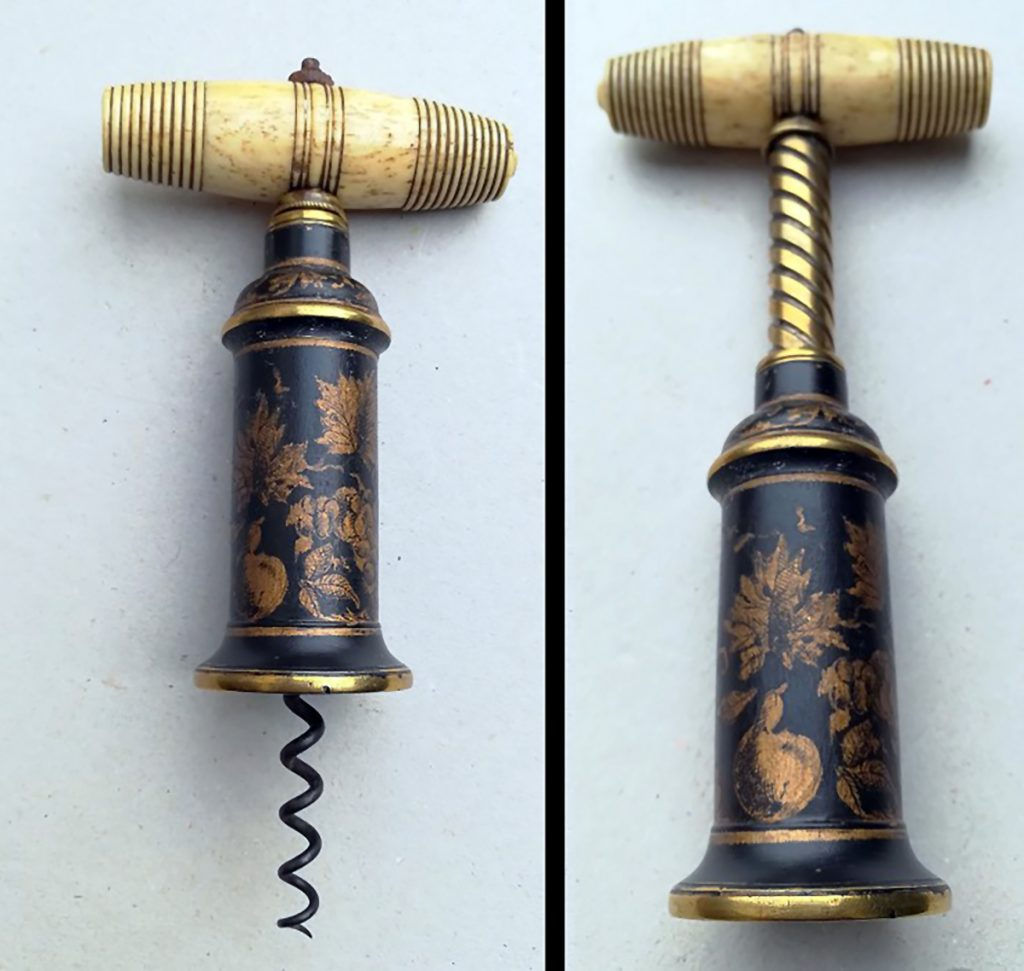 Gavels 'n' Paddles: English Thomason corkscrew, $23,244, CollectorCorkscrews.com