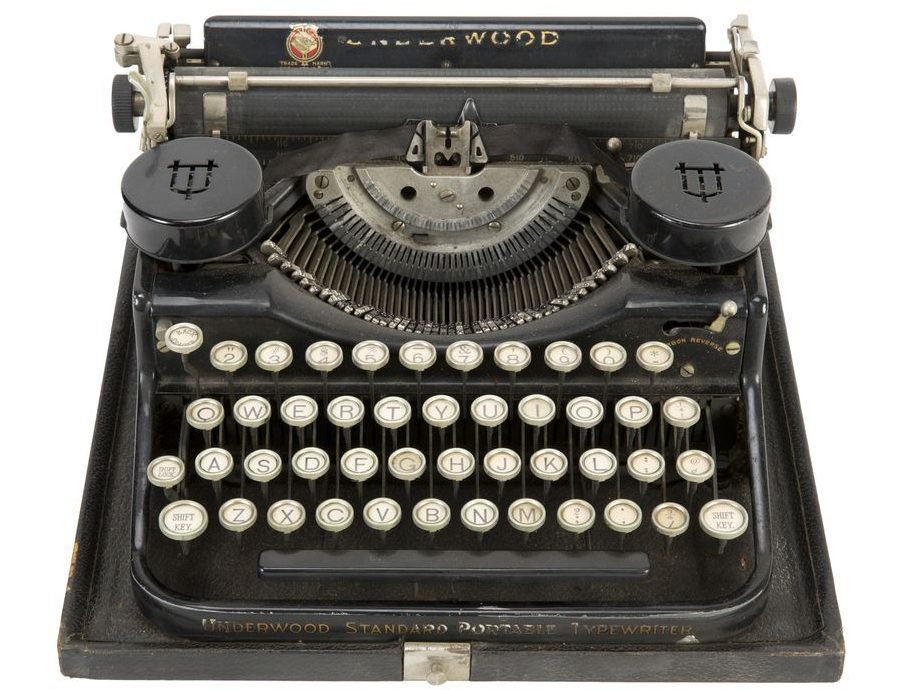 Gavels 'n' Paddles: Hugh Hefner typewriter, $162,500, Julien's Auctions