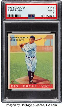 Number One Set on PSA Registry Will Tempt Hobby's Top Collectors