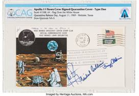 Neil Armstrong Collection Soars to New Heights at Auction