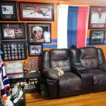 Decorating with Sports Memorabilia