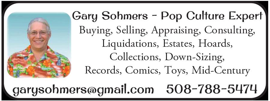 Gary Sohmers - Pop Culture Expert