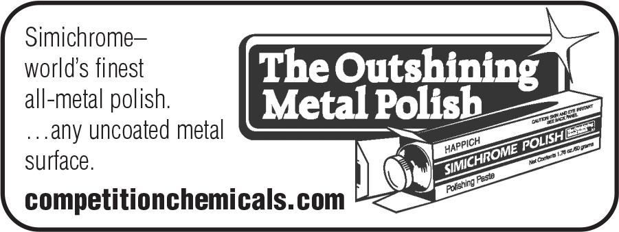 Simichrome - The Oustanding Metal Polish