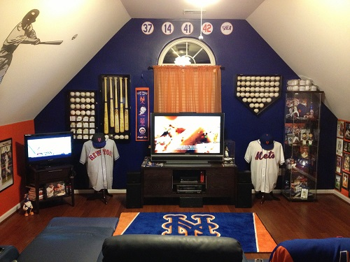 Decorating with Sports Memorabilia