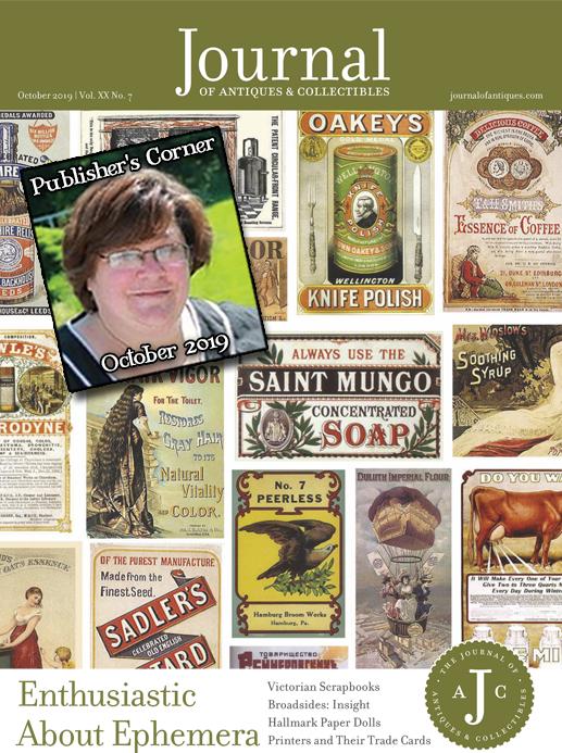 Publisher's Corner: October 2019