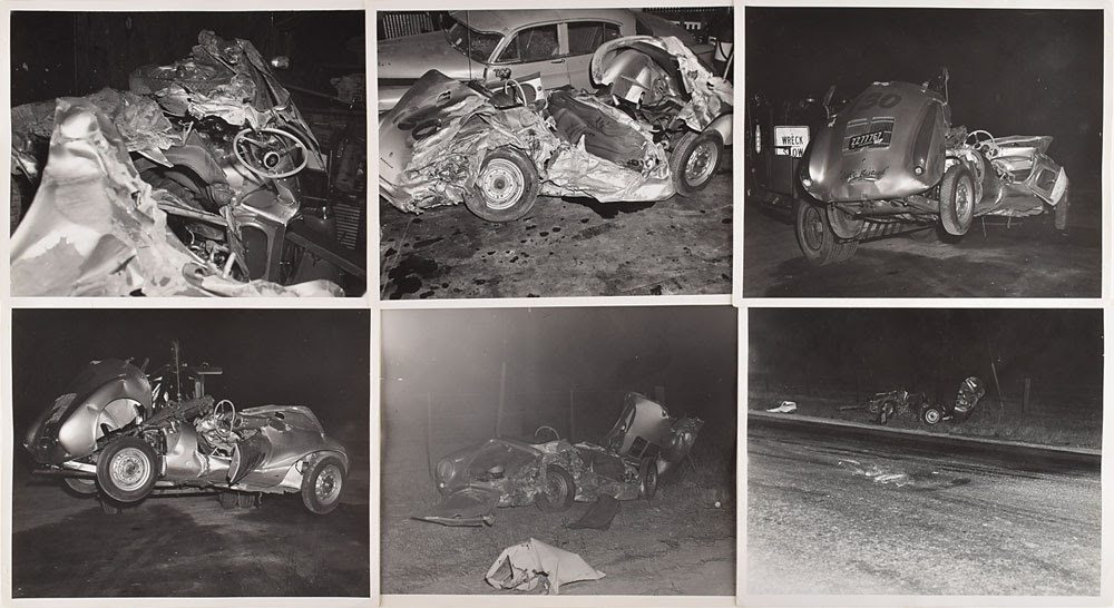 Gavels 'n' Paddles: James Dean crash photos, $22,498, RR Auction