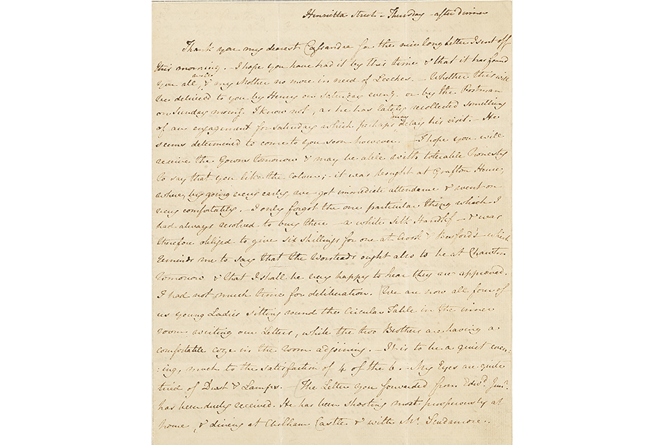 Gavels 'n' Paddles: Jane Austen letter, $200,075, Bonhams