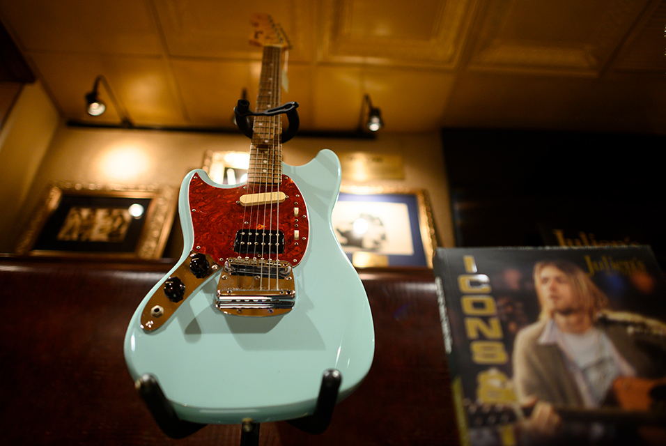 Gavels 'n' Paddles: Kurt Cobain's guitar, $340,000, Julien's