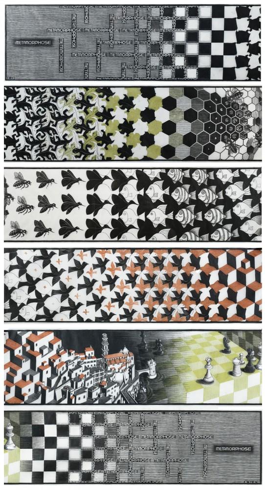 Gavels 'n' Paddles: M.C. Escher woodblock print, $98,400, Clars Auction Gallery