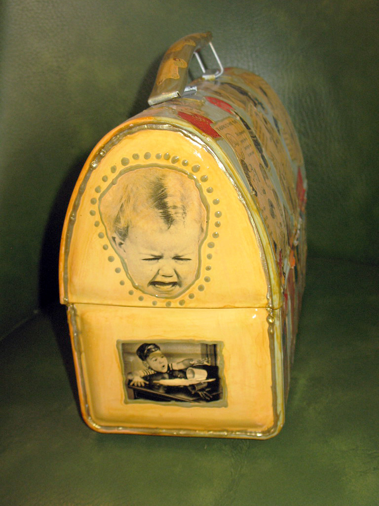 Lunchbox given as a baby shower gift