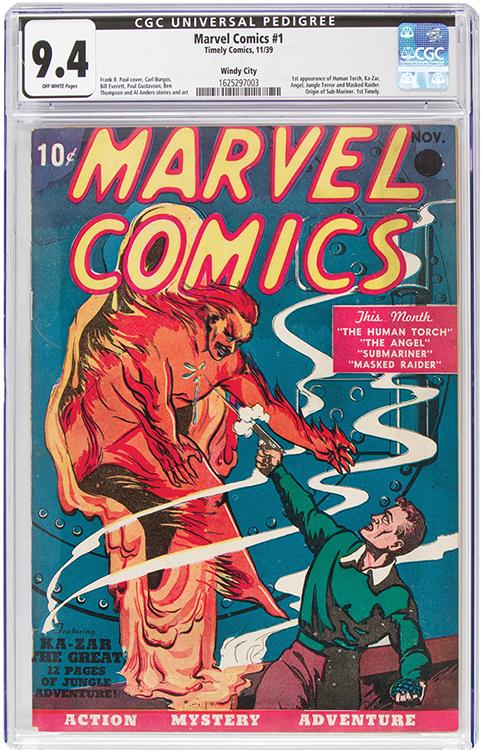 Marvel Comics #1 $1,26 mil