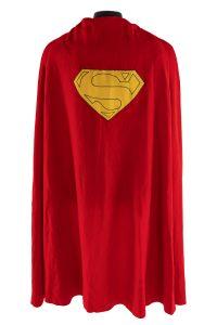 Superman movie cape, $193,750, Julien's Auctions