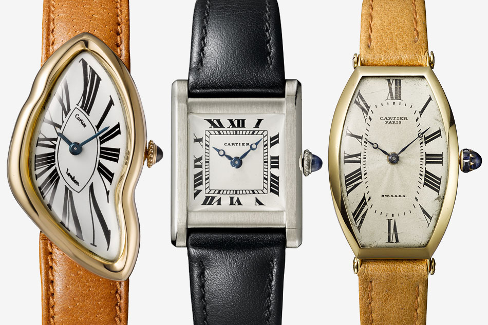 Three vintage watches side by side